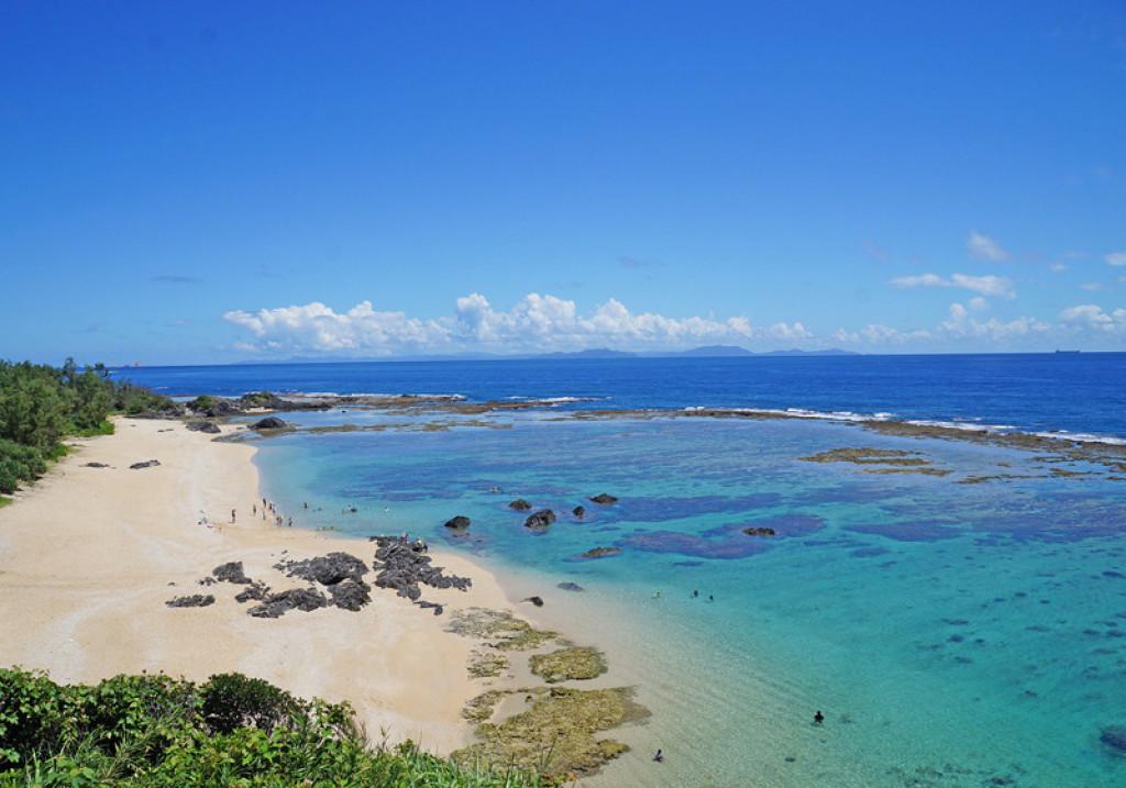 Azure seas and pale sands, Ryukyu Islands, Japan
