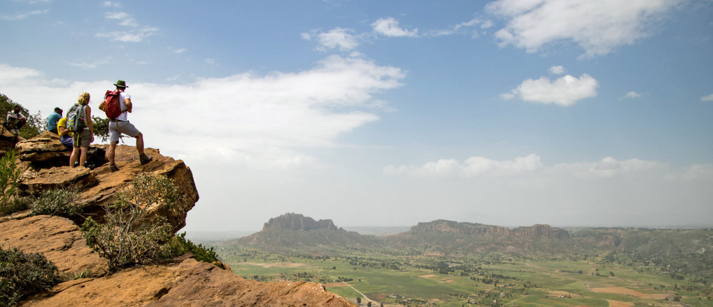 Far Reaching views in the Gheralta Mountains, Ethiopia