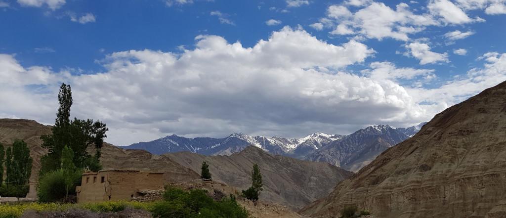 Hiking the High Monasteries of Ladakh, end of Day 1 Trek
