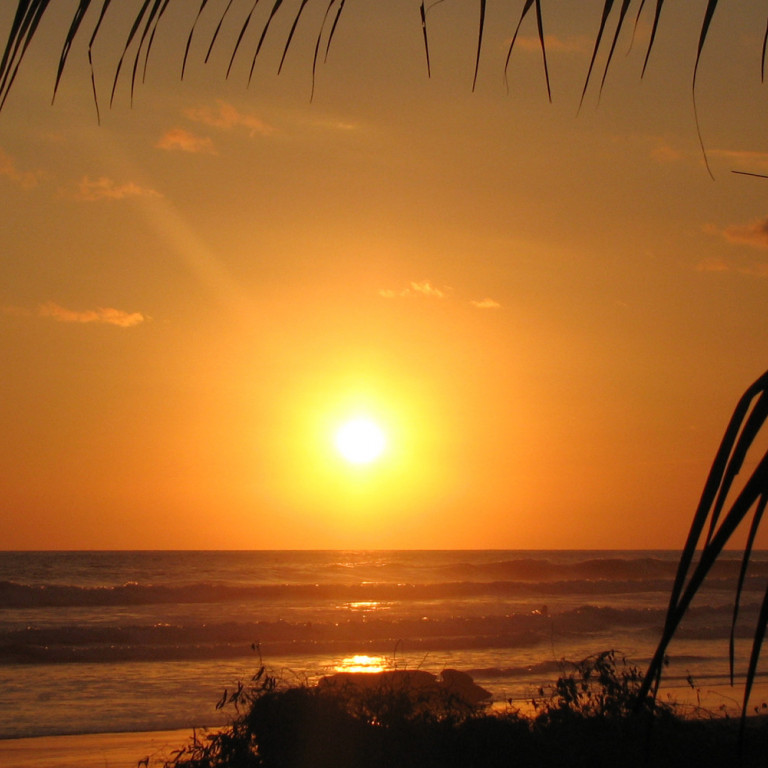 South Pacific Sunset, coast of Costa Rica