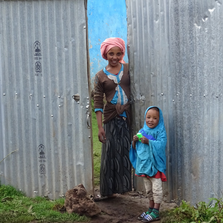 Smiling locals, Bale Mountains, Ethiopia