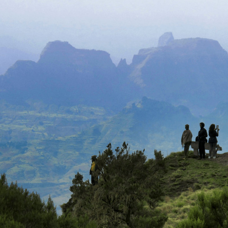 Stunning views in the Simien Mountains, Ethiopia
