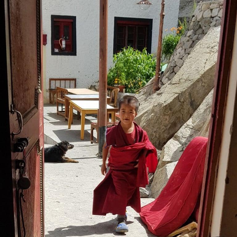 Young Monk, Thiksey Monastery, Leh, Ladakh