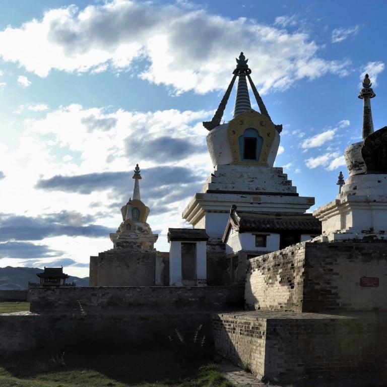 Mongolian Temple in Naiman Nuur region