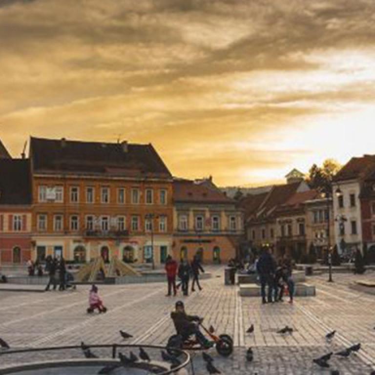 Medieval City of Brasov, Transylvania, Romania