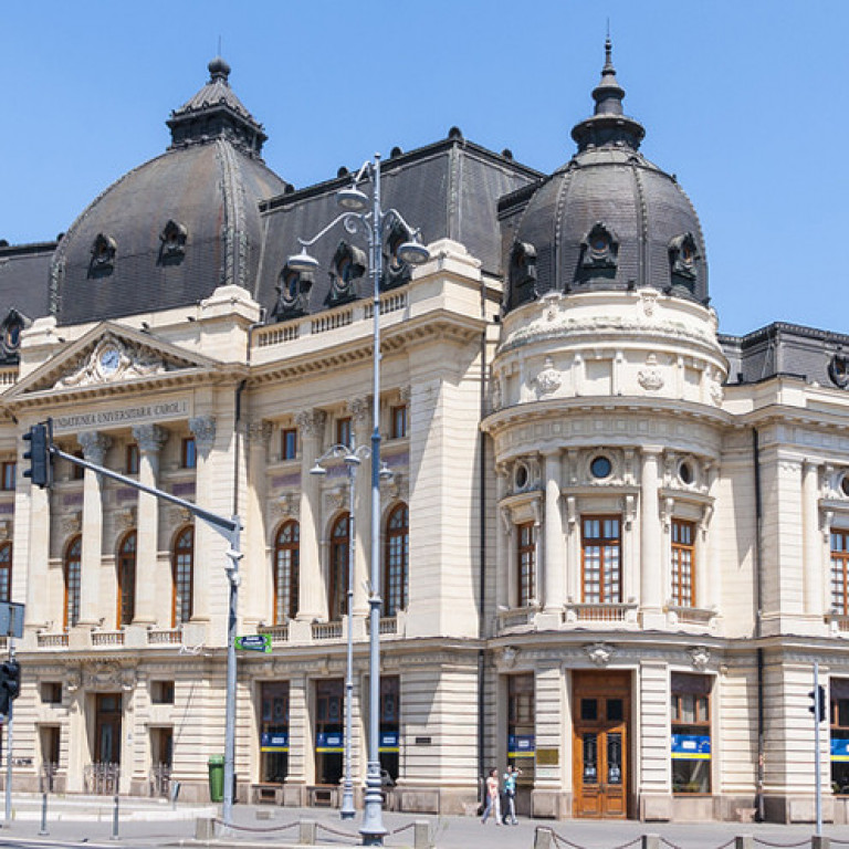National Library, Bucharest, Romania