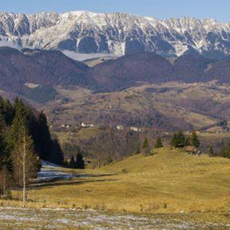 Carpathian Mountain Range, Romania