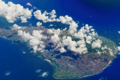 Birds eye view, Ryukyu Islands, Japan