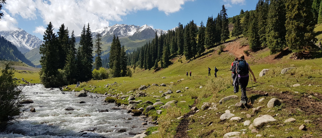 Hiking the Tian Shan Mountains Wild, Kyrgyzstan