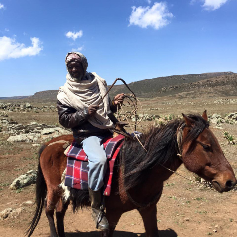 Local Guide, Bale Mountains, Ethiopia