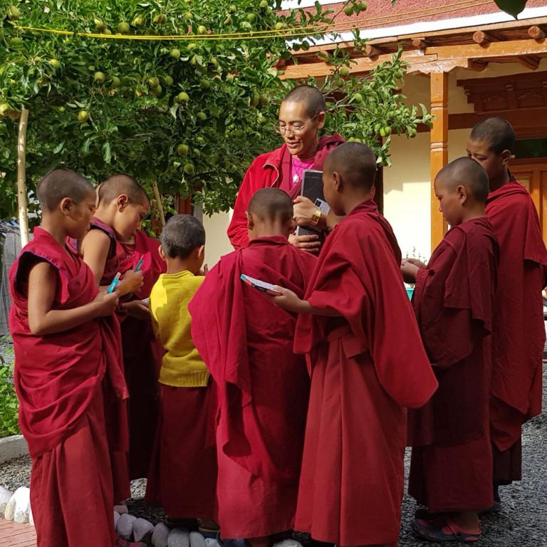 Pupils at Tingmosgang school, Ladakh, India