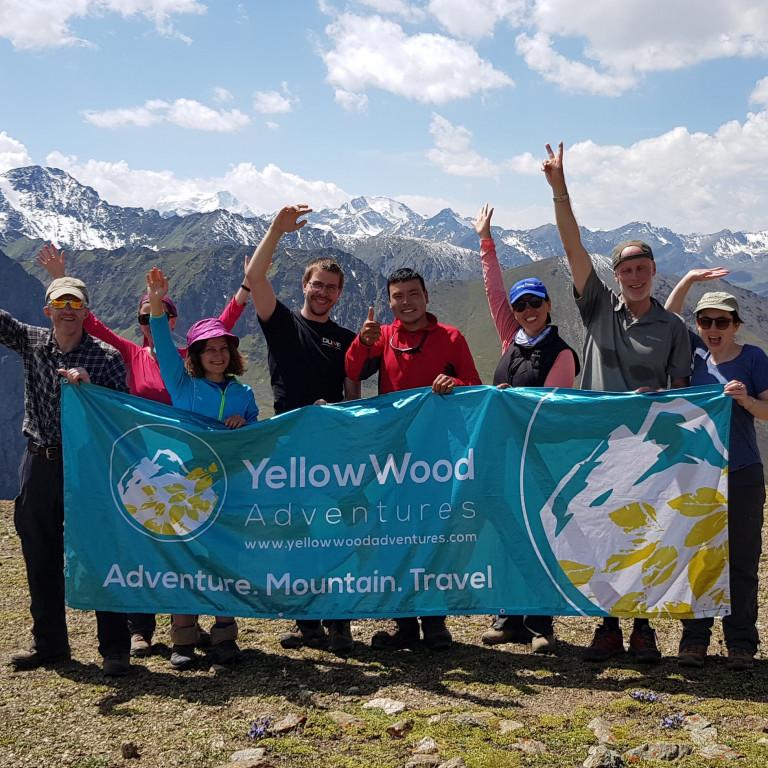 Tian Shan Mountain Summit, Kyrgyzstan