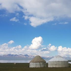 Lakeside Ger camp, Kyrgyzstan