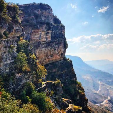 Striking views outside Jezzine, Lebanon