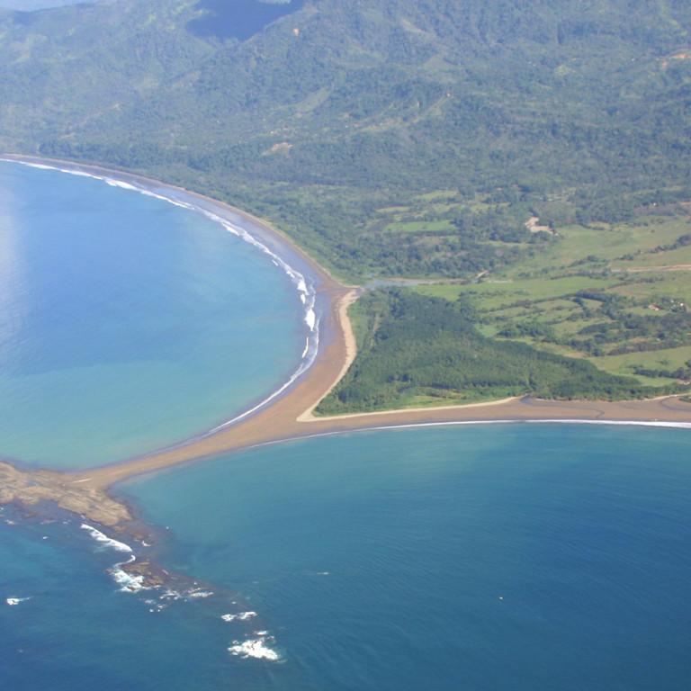 Ballena Beach at Low Tide, Marina Ballena National Park, Costa Rica