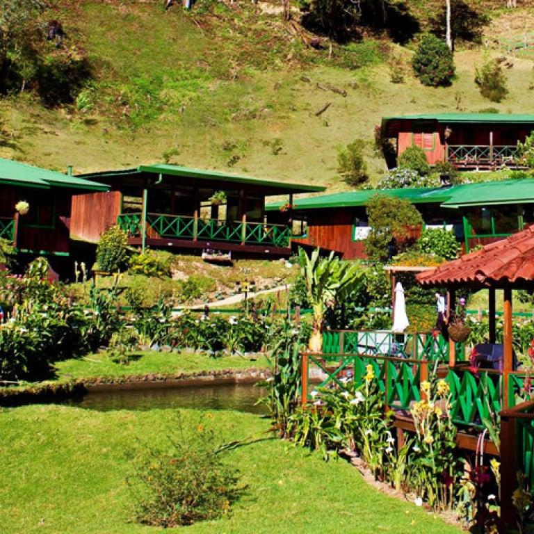 Saverge Lodge; spa resort on nature reserve, Costa Rica
