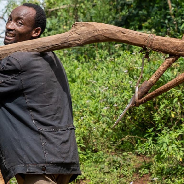Local Farmer, Kafa Biosphere, Ethiopia