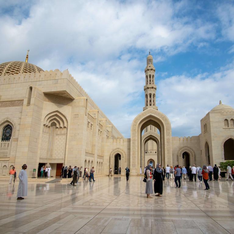 Sultan Qaboos Grand Mosque-Muscat