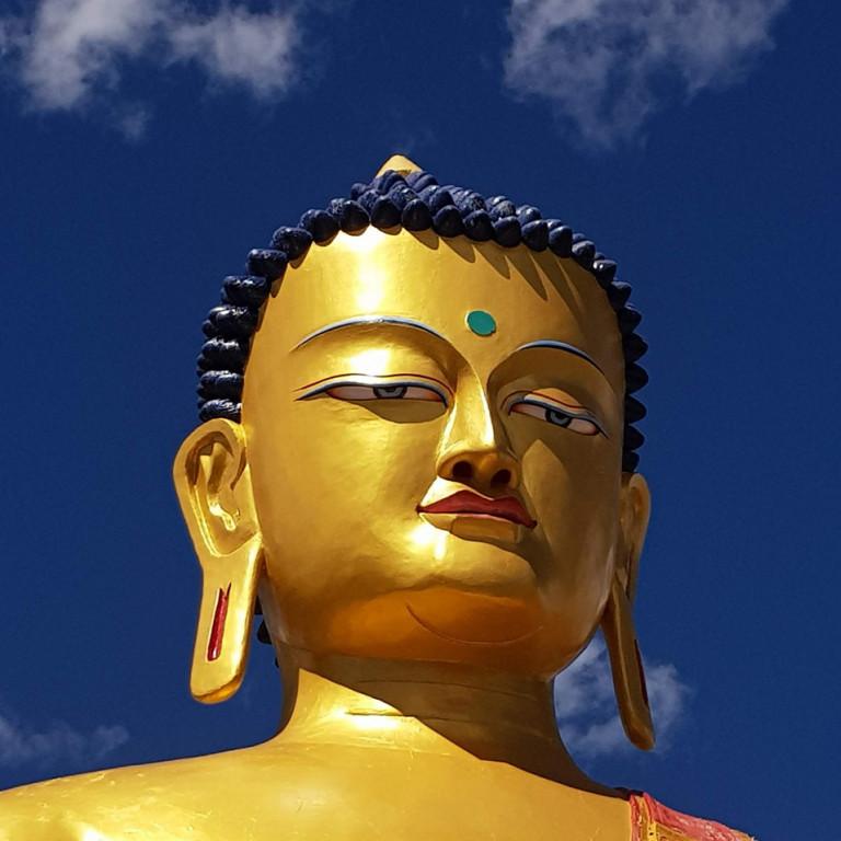Buddha, Hemis Shukpachen, Ladakh