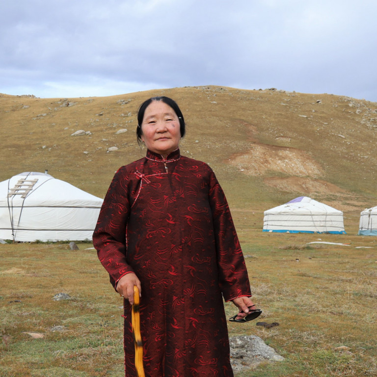 Hostess, Ger Homestay, Mongolia