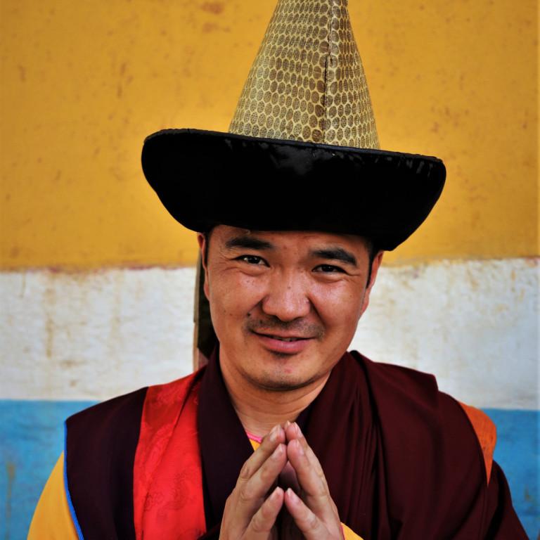 Buddhist Monk, Mongolia