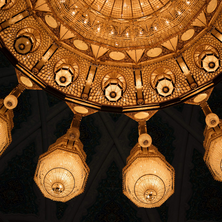 Ornate Ceiling-Oman