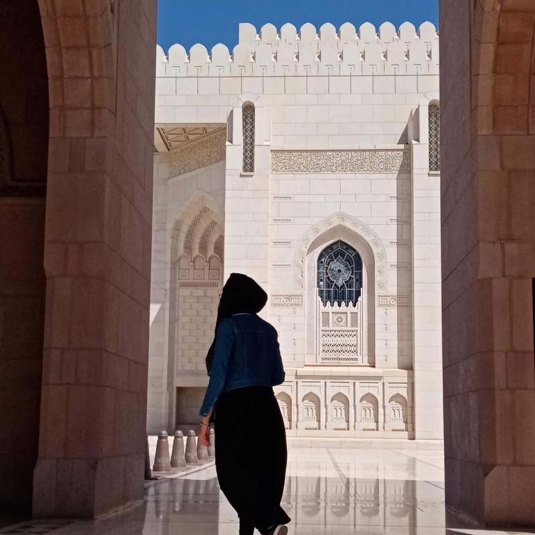 Grand Mosque walls-Muscat-Oman