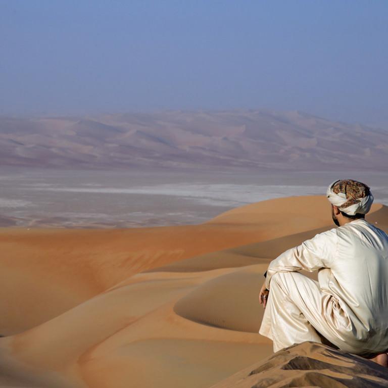 Desert views, Oman
