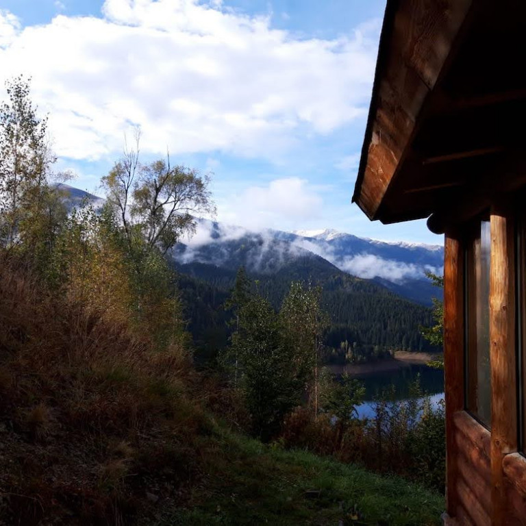 Views from Bunea Cabin-Wildlife Cabin Experience-Romania