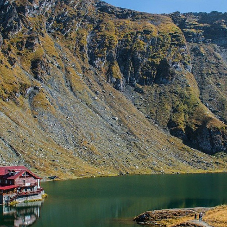 Balea Reservoir, Transfaragasan  Mountains, Romania