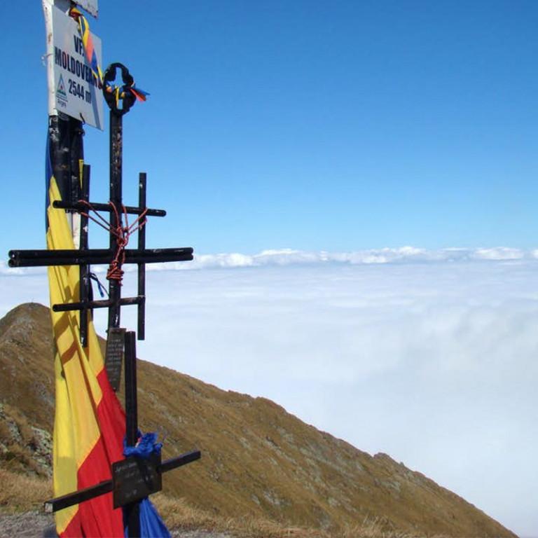 Moldoveanu, Highest peak in Romania