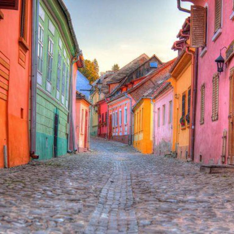 Medieval town of Sighisoara, Romania
