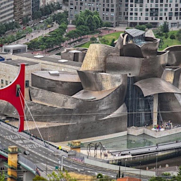 Guggenheim Museum-Bilbao-Northern Spain