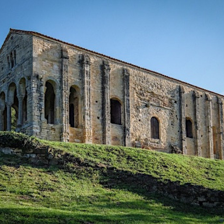 Church pre-dating Roman times, Historic Cities & Foothills, Spain