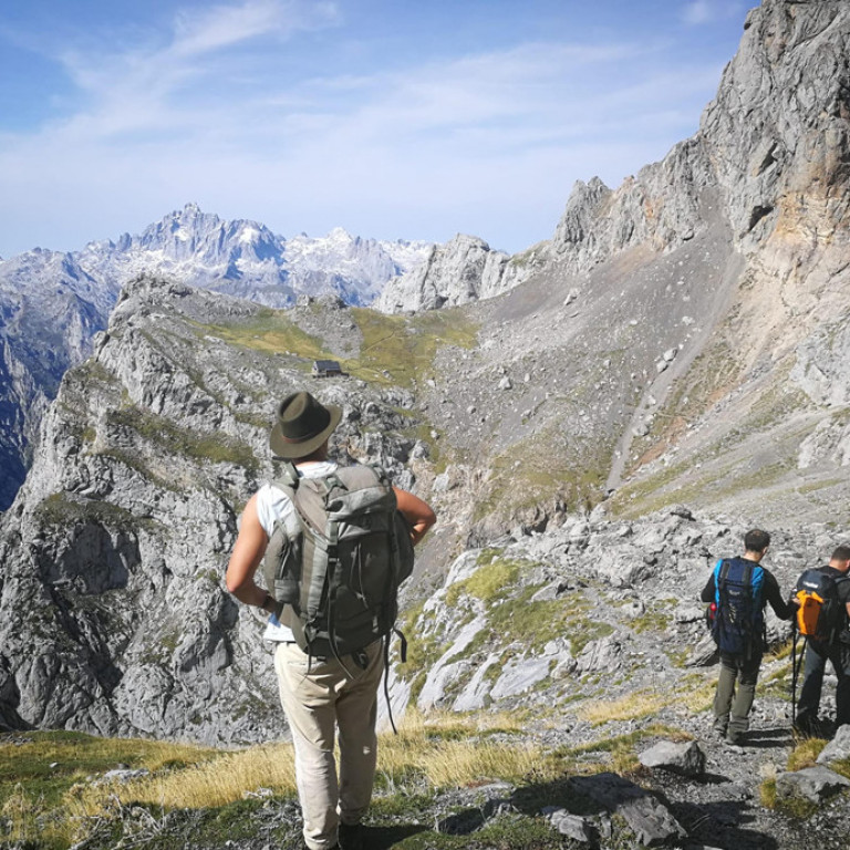 High peaks of the Picos de Europa, Cantabrian Mountains, Northern Spain