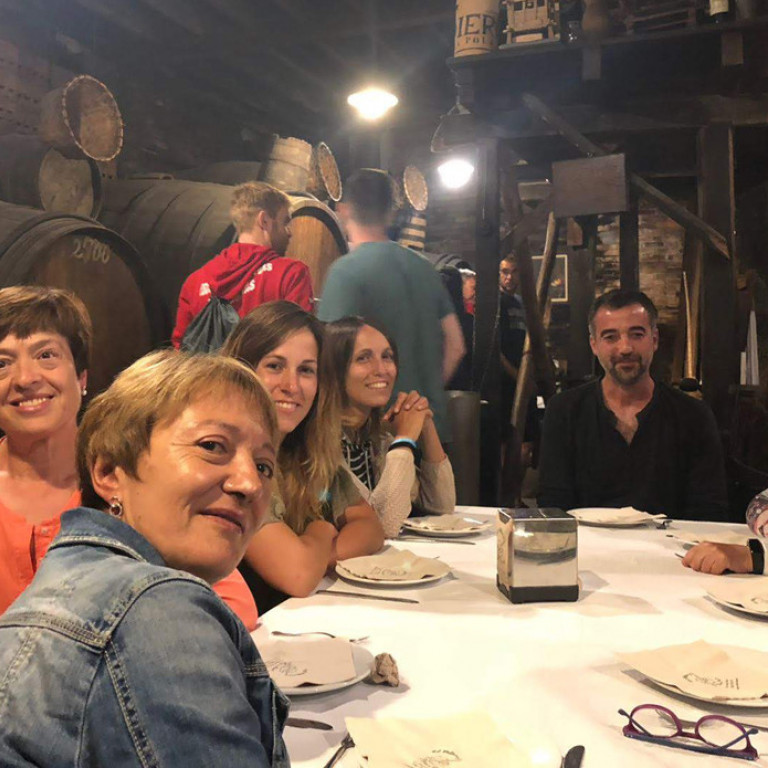 Cider tasting, Asturias, Picos de Europa, Northern Spain