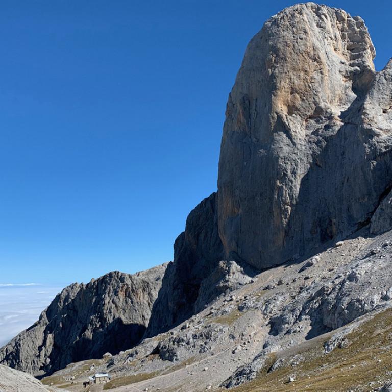 Western Face of the Naranjo de Bulnes, Picos de Europa, Northern Spain
